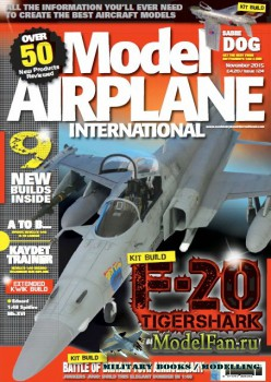 Model Airplane International №124 (November 2015)