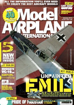 Model Airplane International №126 (January 2016)