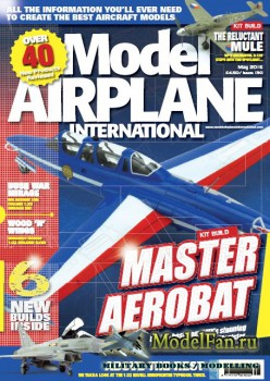 Model Airplane International №130 (May 2016)