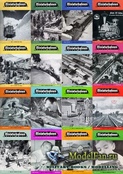 MIBA (Miniaturbahnen) журналы за 1956 год