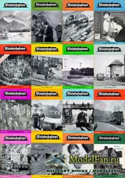 MIBA (Miniaturbahnen) журналы за 1957 год