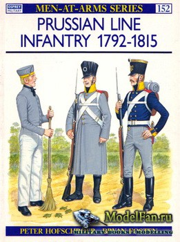 Osprey - Men at Arms 152 - Prussian Line Infantry 1792-1815