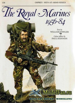 Osprey - Men at Arms 156 - The Royal Marines 1956-1984