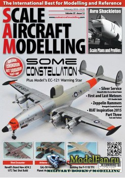 Scale Aircraft Modelling Vol.37 №12 (February 2016)