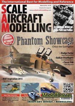 Scale Aircraft Modelling Vol.38 №1 (March 2016)