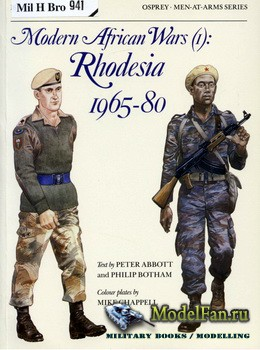 Osprey - Men at Arms 183 - Modern African Wars (1): Rhodesia 1965-1980