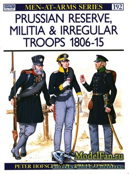 Osprey - Men at Arms 192 - Prussian Reserve, Militia & Irregular Troops 1806-1815