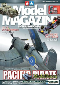 Tamiya Model Magazine International №232 (February 2015)