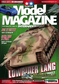 Tamiya Model Magazine International №255 (January 2017)