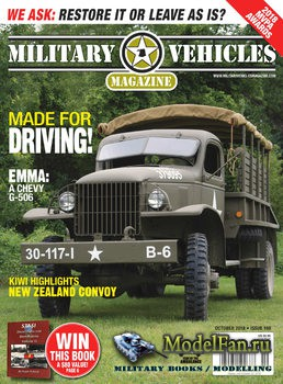 Military Vehicles Magazine October 2018