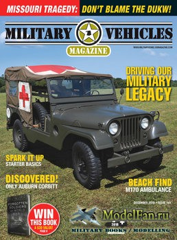 Military Vehicles Magazine December 2018