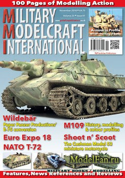 Military Modelcraft International (November 2018) Vol.23 №1