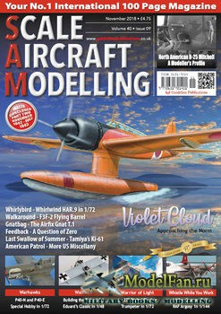 Scale Aircraft Modelling Vol.40 №9 (November 2018)
