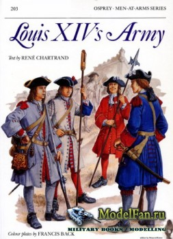 Osprey - Men at Arms 203 - Louis XIV's Army