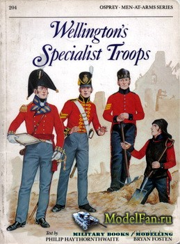 Osprey - Men at Arms 204 - Wellingtons Specialist Troops