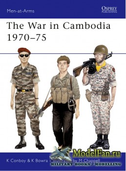 Osprey - Men at Arms 209 - The War in Cambodia 1970-1975
