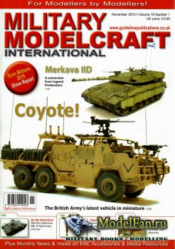 Military Modelcraft International (November 2010) Vol.15 №1
