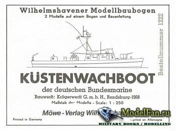 WHM 1222 - Küstenwachboot Niobe & Hansa