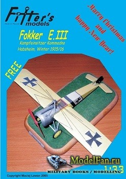 Fitters Model - Fokker E.III
