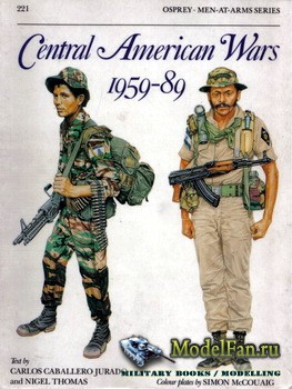 Osprey - Men at Arms 221 - Central American Wars 1959-1989