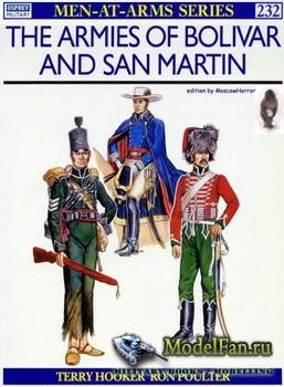 Osprey - Men at Arms 232 - The Armies of Bolivar and San Martin