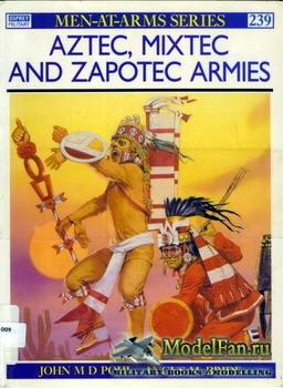 Osprey - Men at Arms 239 - Aztec, Mixtex and Zapotec Armies