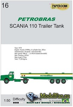 Paperoom - Scania 110 Trailer Fuel Tank