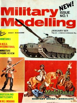Military Modelling Vol.1 No.1 (January 1971)