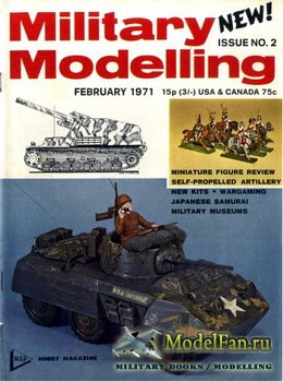 Military Modelling Vol.1 No.2 (February 1971)