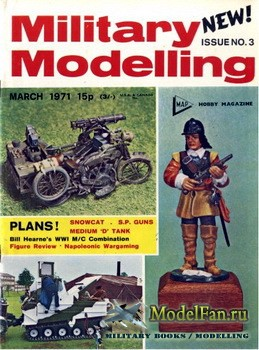Military Modelling Vol.1 No.3 (March 1971)