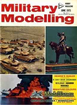 Military Modelling Vol.1 No.6 (June 1971)