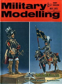 Military Modelling Vol.1 No.7 (July 1971)