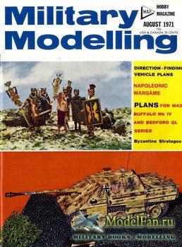 Military Modelling Vol.1 No.8 (August 1971)
