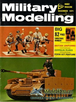 Military Modelling Vol.1 No.12 (December 1971)