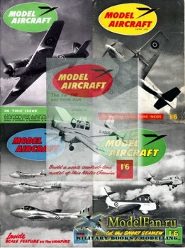 Model Aircraft за 1955 год