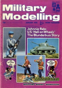 Military Modelling Vol.5 No.1 (January 1975)