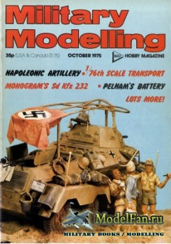 Military Modelling Vol.5 No.10 (October 1975)