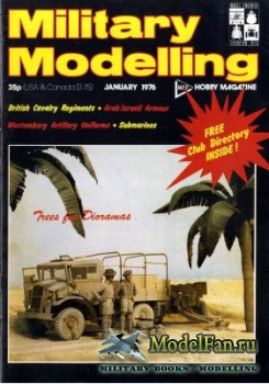Military Modelling Vol.6 No.1 (January 1976)