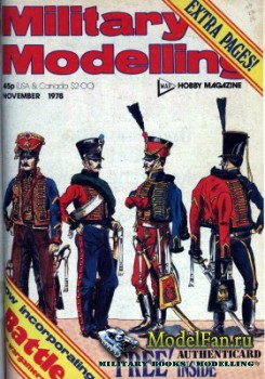 Military Modelling Vol.8 No.11 (November 1978)