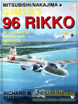 Schiffer Publishing - Mitsubishi/Nakajima G3M1/2/3 96 Rikko L3Y1/2 in Japan ...