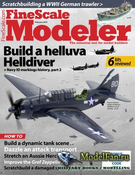 FineScale Modeler Vol.37 №2 (February 2019)