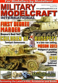 Military Modelcraft International (July 2013) Vol.17 №9