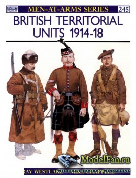 Osprey - Men at Arms 245 - British Territorial Units 1914-1918