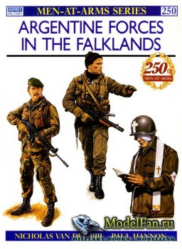 Osprey - Men at Arms 250 - Argentine Forces in the Falklands