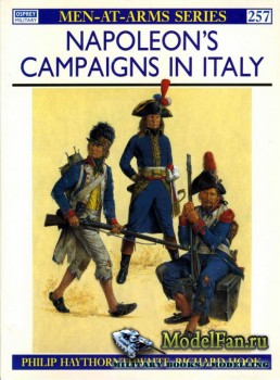 Osprey - Men at Arms 257 - Napoleon's Campaigns in Italy
