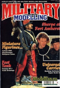 Military Modelling Vol.25 No.8 (August 1995)