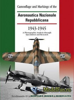Classic Publications - Camouflage and Markings of the Aeronautica Nazionale Repubblicana 1943-1945