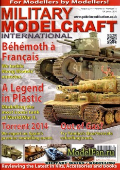 Military Modelcraft International (August 2014) Vol.18 №10