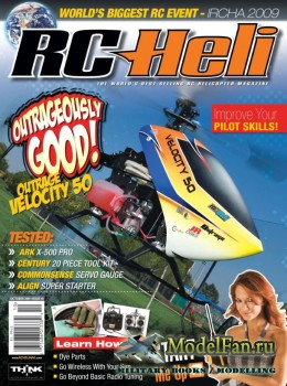RC Heli (October 2009) Issue 40