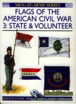 Osprey - Men at Arms 265 - Flags of the American Civil War (3): States & Vo ...